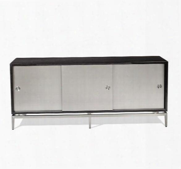 Cora Buffet In Smoked Grey Oak Design By Interlude Home
