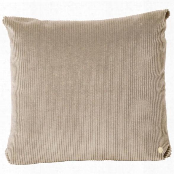 Corduroy Cushion In Beige Design By Ferm Living