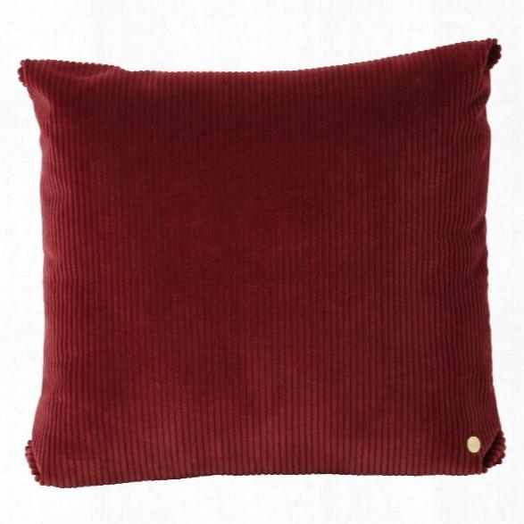Corduroy Cushion In Brick Design By Ferm Living