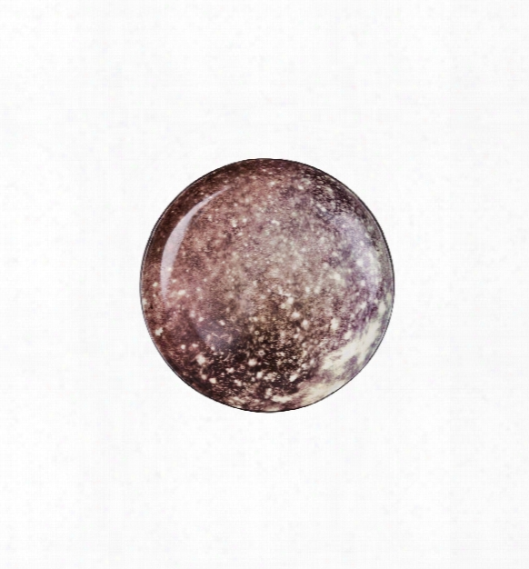 Cosmic Diner Collection - Callisto Porcelain Plate Design Byy Seletti