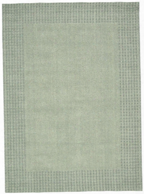 Cottage Grove Collection Coastal Village Wool Area Rug In Mist - Kathy Ireland Home By Nourison