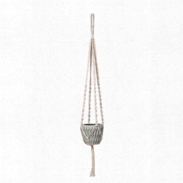 Cotton Plant Hanger W/ Tassel Design By Bd Edition