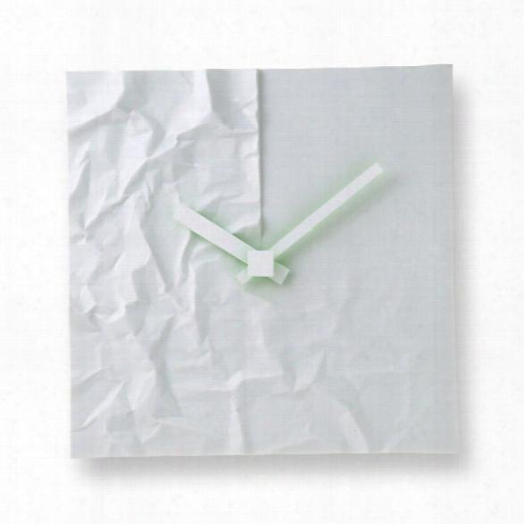 Crinkle Clock Design By Lemnos