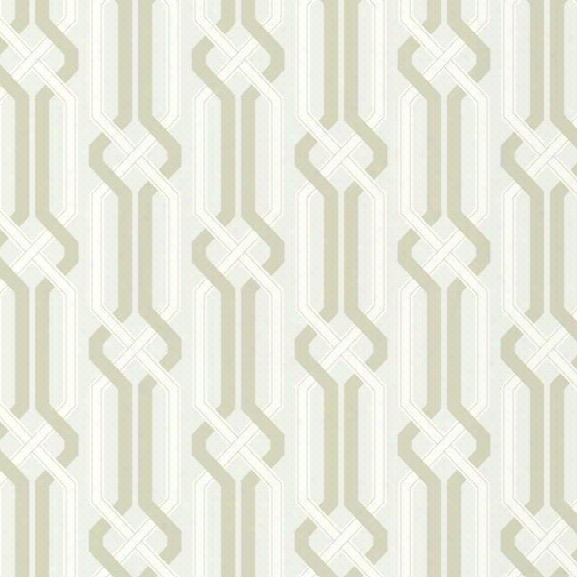 Criss Cross Wallpaper In Pearlescent Grey Design By Carey Lind For York Wallcoverings