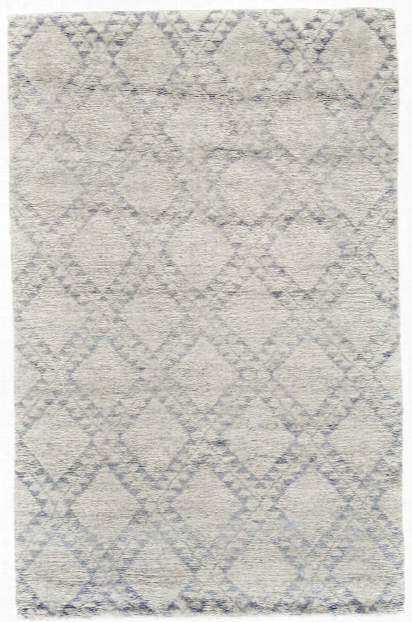 Crisscross Rug In Ice Design By Bd Fine