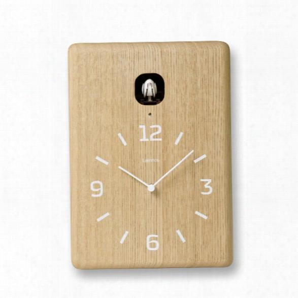Cucu Wall Clock In Natural Design By Lemnos