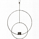 Circular Hanging Tealight Deco in Black design by Ferm Living