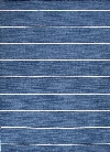 Coastal Living Dhurries Collection Cape Cod Rug in Dark Denim design by Jaipur