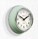 Cookhouse Wall Clock in Kettle Green design by Newgate