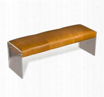 Aiden Leather Bench Design By Interlude Home