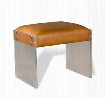 Aiden Leather Stool Design By Interlude Home