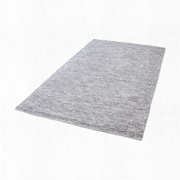 Alena Handmade Cotton Rug In Black And White Design By Lazy Susan