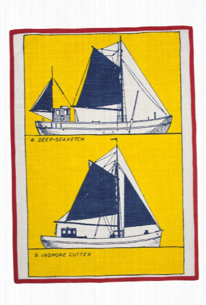 Cutter Tea Towel Design By Thomas Paul