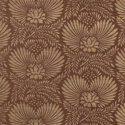 Dahlia Wallpaper In Browns Design By Ronald Redding