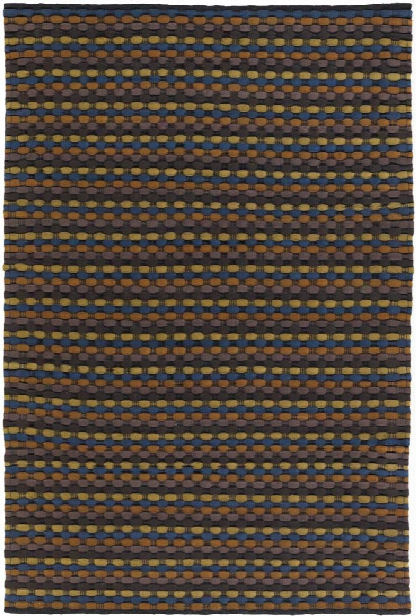 Dalamere Collection Hand-woven Area Rug In Green, Blue, & Brown Design By Chandra Rugs