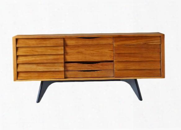 Dane Sideboard In Naturral Teak Design By Selamat