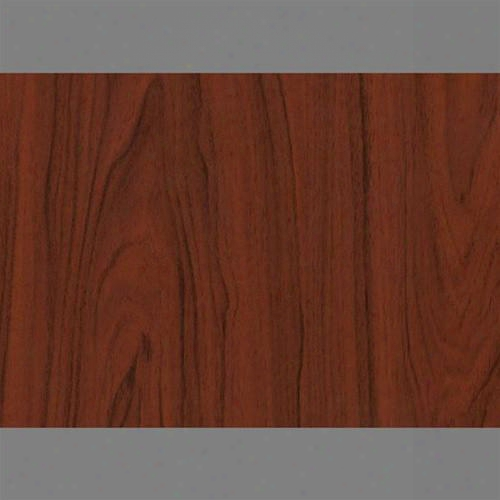 Dark Mahogony Self-adhesive Wood Grain Contact Wallpaper By Burke Decor