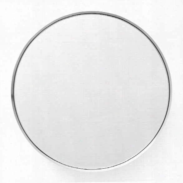 Darkly Mirror In Brushed Aluminum Design By Menu