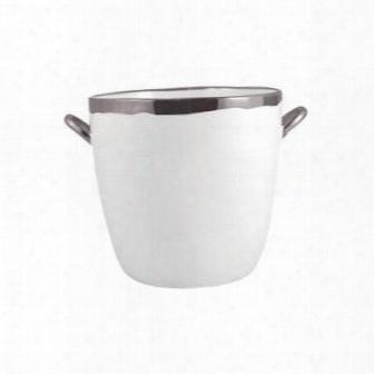 Dauville Platinum Glazed Ice Bucket Design By Canvas