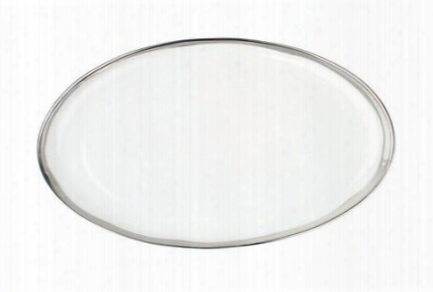 Dauville Platter With Platinum Rim Design By Canvas