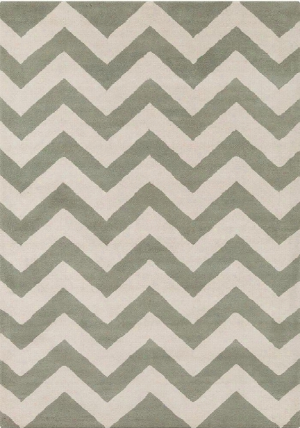 Davin Collection Hand-tufted Area Rug In Grey & White Design By Chandra Rugs