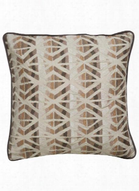 Dekota Pillow In Turtle Dove & Snow White Design By Dekota