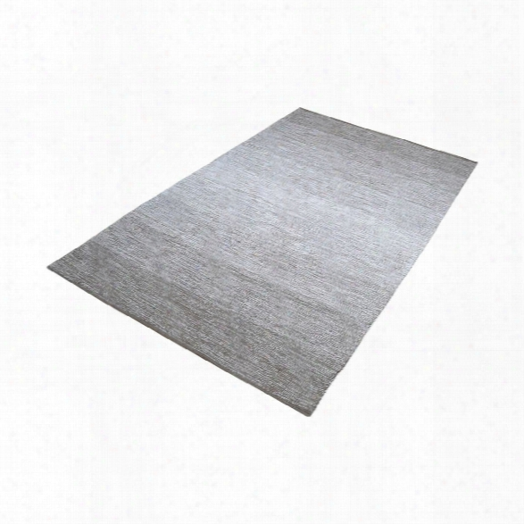 Delight Handmade Cotton Rug In Grey Design By Lazy Susan