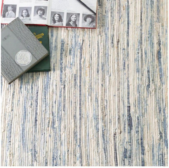 Denim Rag Woven Rug Design By Dash & Albert