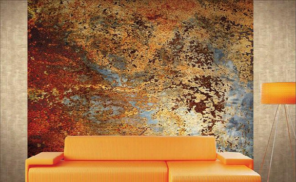 Denton Abstract Wall Mural Design By Carl Robinson