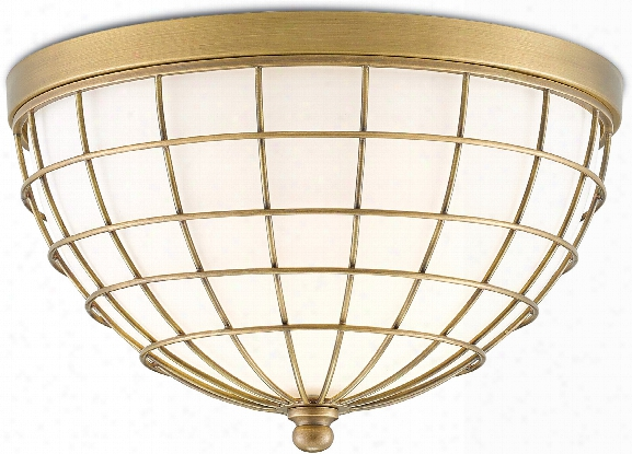 Derrida Flush Mount Design By Currey & Company