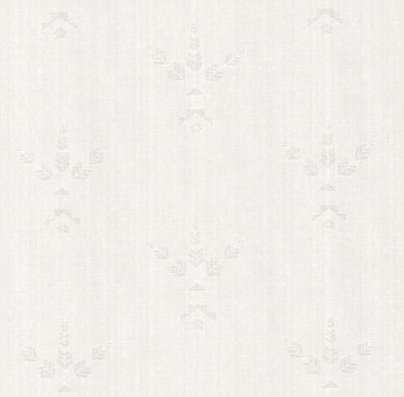 Desert Bloom Wallpaper In Oat By Cavernhome