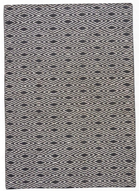 Desert Rug In Moonless Night & Turtledove Design By Jaipur