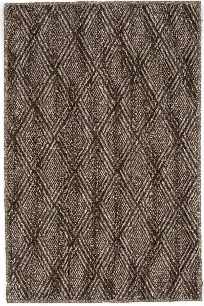 Diamond Greige Sisal Woven Rug Design By Dash & Albert
