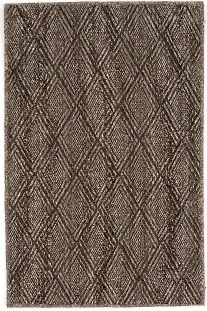 Diamond Greige Sisal Woven Rug Design By Dash & Albert