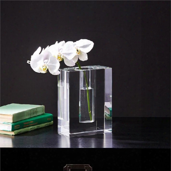 Dixon Block Crystal Vase Design By Two's Company