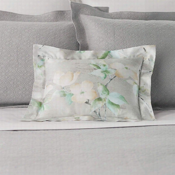 Dogwood Zinc Decorative Pillow Design By Luxe