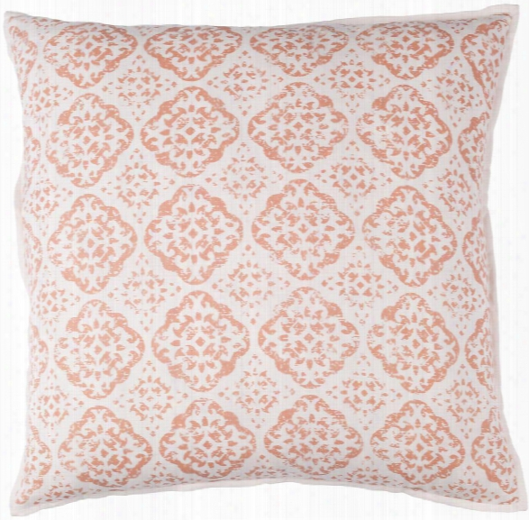 D'orsay Pillow In Blush & Bright Pink Design By Elle Decor