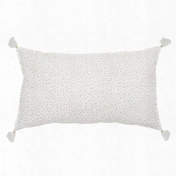 Dot Hand Blocked Pillow In Various Colors Design By Pom Pom At Home
