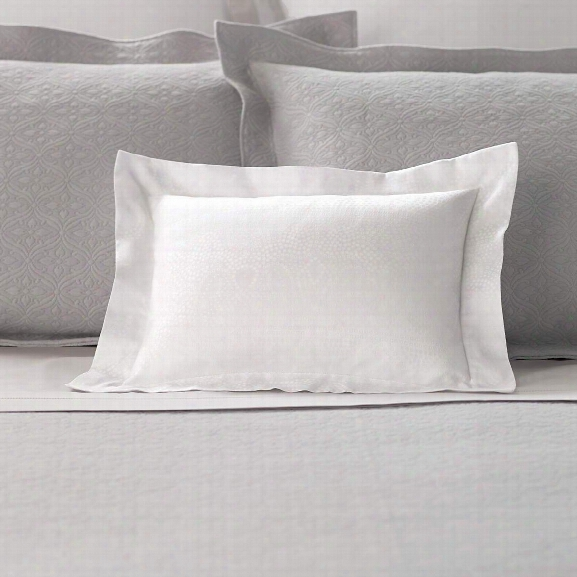 Dots White Decorative Pillow Design By Luxe