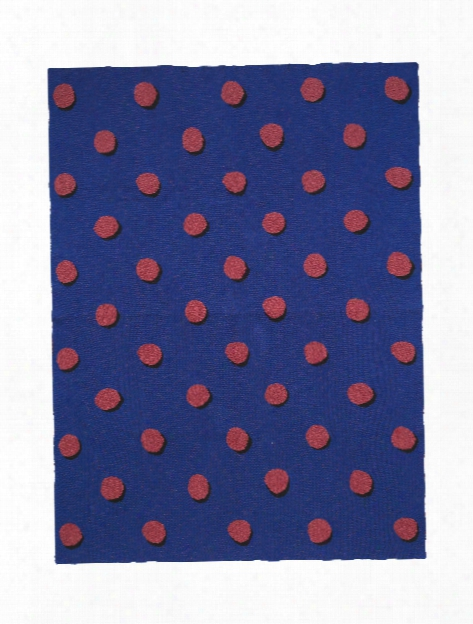 Double Dot Blanket In Blue Design By Ferm Living