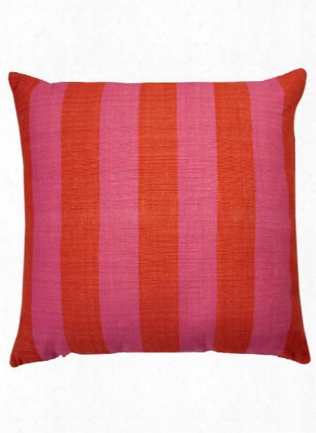 Double Stripe Yorkville Pillow In Maraschino Design By Kate Spade