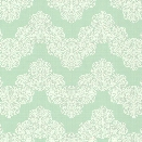 Airwaves Wallpaper in Aqua and White by York Wallcoverings