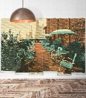 Allerton House Wall Mural from the Erstwhile Collection by Milton & King