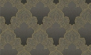 Damask Filigree Wallpaper in Metallic and Neutrals design by Seabrook Wallcoverings