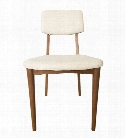 Dane Side Chair Natural Teak design by Selamat