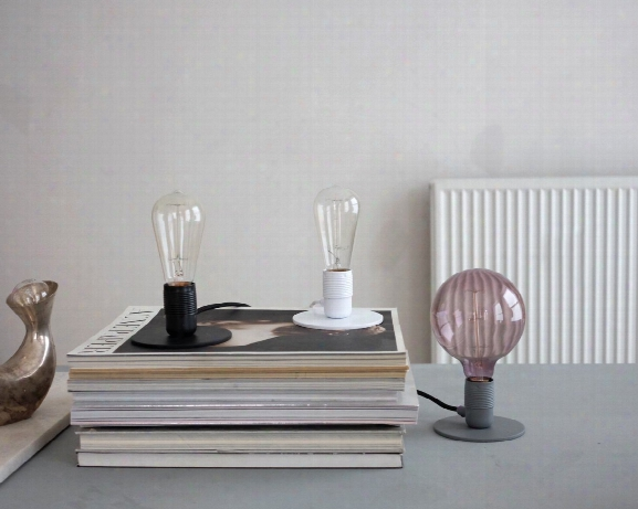 E27 Table Lamp In Various Finishes Design By Frama