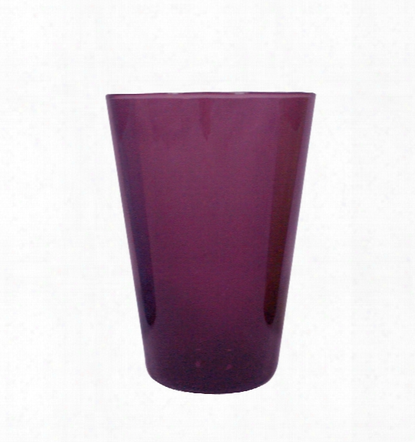 Eau Minerale Glass In Amethyst By Canvas