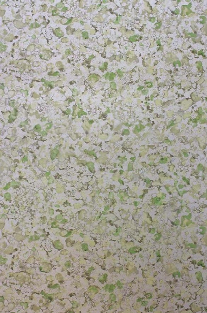 Ebru Wallpaper In Metallic Silver And Chartreuse From The Pasha Collection By Osborne & Little
