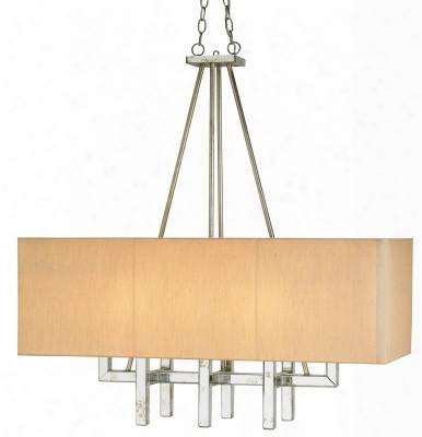 Eclipse Rectangular Chandelier Design By Currey & Company