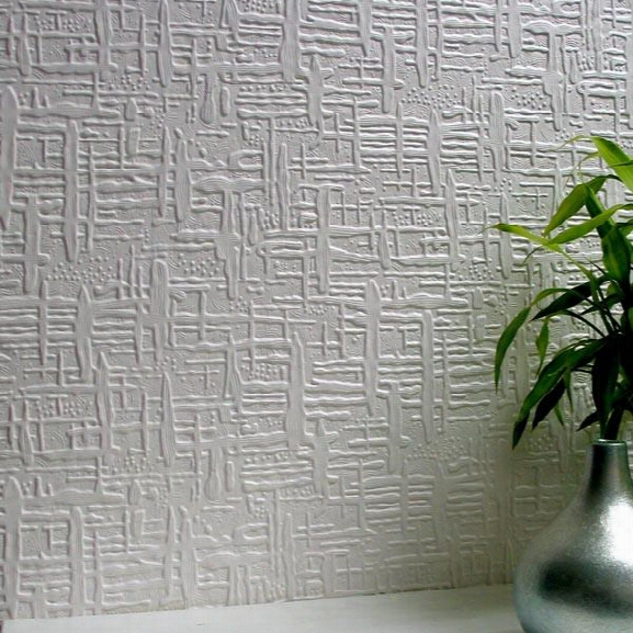 Edward Paintable Supaglypta Wallpaper Design By Brewster Home Fashions